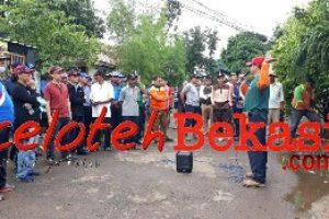PT. Bridgestone dan Warga Kampung Sawah  Lakukan  Giat Kerja Bakti Dilingkungan RW 01/ RW 18