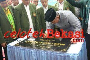 Wali Kota Bekasi Resmikan Masjid Luhur Al-Barokah Jatiasih