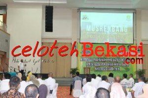Wali Kota Bekasi Buka Musrembang RKPD Tingkat Kota