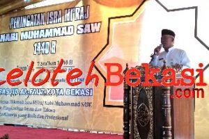 Disdik Kota Bekasi Peringati Isra Mi'raj Dan Resmikan Masjid Al. FAUZ