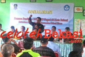 Kelurahan Marga Mulya Sosialisasi USB SMP Negeri 56 Kota Bekasi