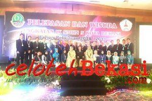 SMKN 5 Kota Bekasi gelar Wisuda Angkatan IX Tahun 2019