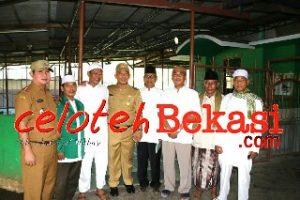Wali Kota Bekasi Revitaslisasi Lapangan Multiguna dan Pembenahan Masjid Al- Makmur