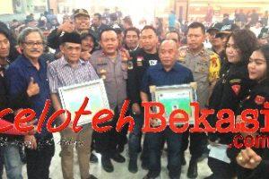 Jalin Silahturahmi dan Jaga NKRI Gibas Resort Kota Bekasi Adakan Bukber