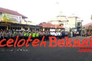 Kawal Arus Mudik lebaran, Polrestro Bekasi Kota Gelar Apel Operasi Ketupat Jaya 2019