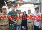Wali Kota Bersama Dandim dan Wakapolres Resmikan Giat Penataan Pemukiman Kumuh Karya Bhakti di Kelurahan Pekayon Jaya