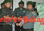 Kodim 0507/Bekasi Lepas Sambut Kepala Staff Kodim Mayor Inf. Rahmat Triono