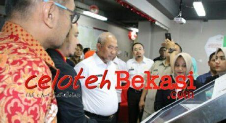 Guna Implementasian Program SMART City,Walikota Bekasi kunjungi Living Lab SMART City Nusantara PT. Telkom Indonesia