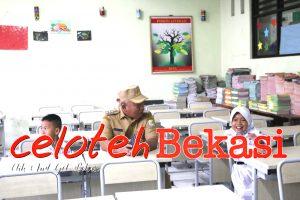 Tak Punya Bangku, Akhirnya Wali Kota Bekasi Sidak Ke SDN Pekayon 3
