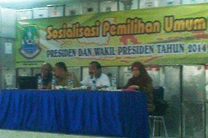 Kecamatan Bekasi Timur  Adakan Sosialisasi Jelang Pilpres 2014