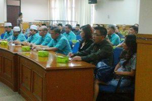 FKUB Kota Bitung Studi Banding Kerukunan Beragama ke Bekasi