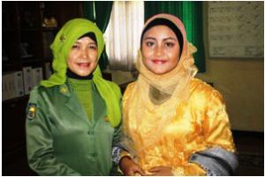 Siswa SMPN 1 Kota Bekasi Juara 1 Story Telling