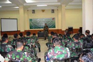 """Sosialisasi Pemilukada """" Korem  051/Wkt sikap Netralitas Diimplemtasikan Oleh Prajurit TNI """""""
