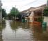 Tanggul GKL Jebol,Puluhan Rumah Warga Terendam Banjir