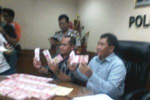 Polresta Bekasi Kota Bekuk 2 Pengedar Uang Palsu di Bekasi