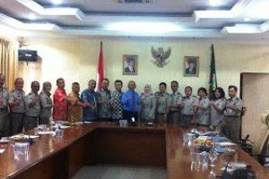 Walikota Kunjungin Kantor BPN Kota Bekasi