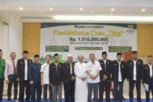 Baznas Kota Bekasi Mulai Mendistribusikan Dana zakat