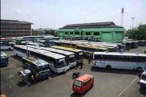 Dishub Kota bekasi Operasi kelayakan Bus Jelang Lebaran