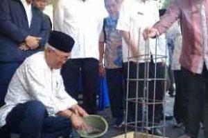 Peletakan Batu Pertama Pembangunan Masjid Al Iklas Disdik Kota Bekasi
