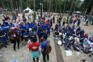 Karyawan Danone-AQUA Ambil Bagian Dalam Kontingen Kebaikan, Jaga Bersih Tempat Penyelenggaraan Asian Games 2018