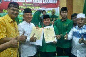 PPP Kota Bekasi Resmi Dukung Pepen Di Pilkada 2018